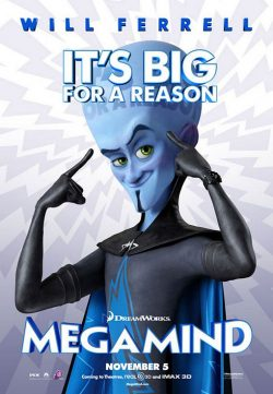 Megamind (2010) BRRip 420p 300MB Dual Audio