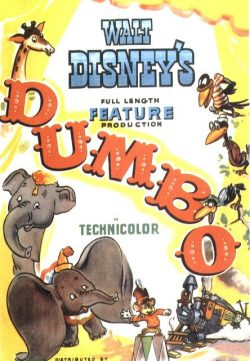 Dumbo (1941) BRRip 420p 250MB Dual Audio