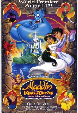 Aladdin and the King of Thieves (1996) HDTVRip 250MB