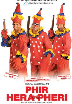 Phir Hera Pheri (2000) Hindi Movie 400MB HDTVRip 420P