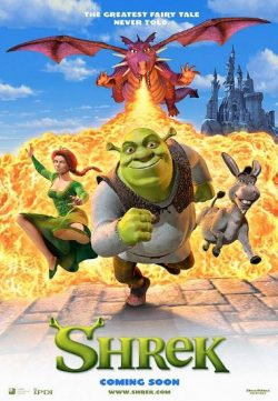 Shrek (2001) BRRip 480p 300MB Dual Audio ESubs