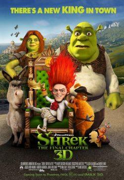Shrek Forever After (2010) BRRip 420p 300MB Dual Audio