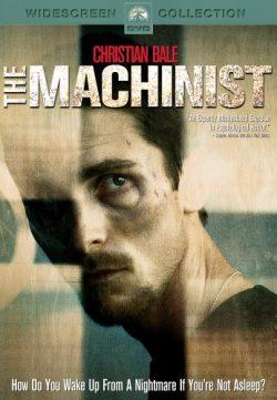 The Machinist (2004) BRRip 420p 300MB Dual Audio