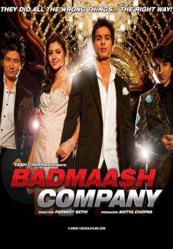 Badmaash Company (2010) Hindi Movie BRRip 720P
