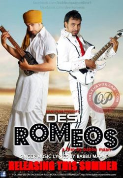 Desi Romeos (2012) 350MB Punjabi Movie DVDRip