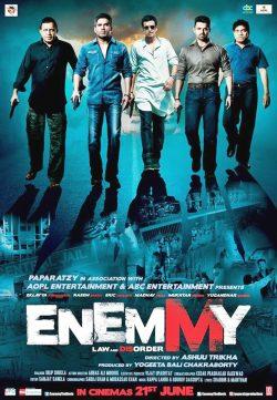 Enemmy (2013) Hindi Movie DVDScr