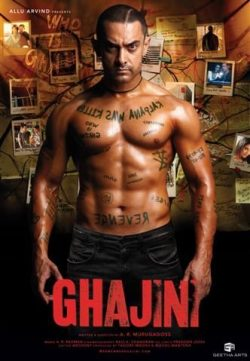 Ghajini (2008) Hindi Movie BRRip 480P 500MB