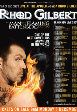 Rhod Gilbert The Man With The Flaming Battenberg Tattoo (2012) Watch Full Movie