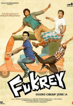 Fukrey (2013) Movie Watch Online In Full HD 1080p 300MB Download Free