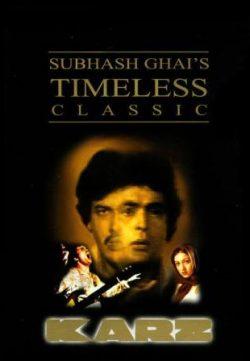 Karz (1980) Hindi Movie Download In HD 720p 300MB