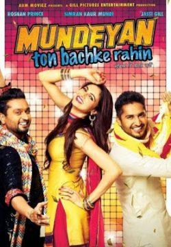 Mundeyan Ton Bachke Rahin (2014) Punjabi Movie Free Download 400MB 720p