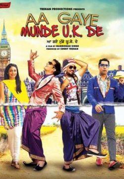 Aa Gaye Munde U.K. De (2014) Punjabi Movie 720p 200MB Download