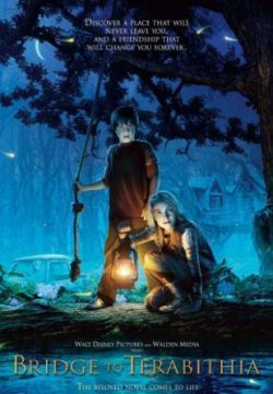 Bridge to Terabithia (2007) Hindi Dubbed Movie Free Download 480p 200MB