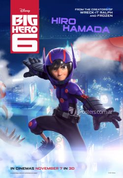 Big Hero 6 2014 Hindi Dubbed Download In HD 480p 400MB