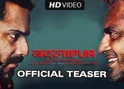 Badlapur (2015) Hindi Movie Official Teaser 720p Download