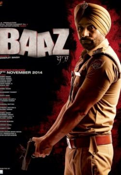 Baaz (2014) Punjabi Movie 720p 200MB