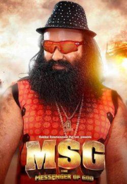 MSG: The Messenger Of God (2015) Hindi Movie 250MB