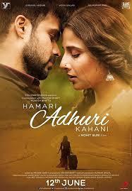 Hamari Adhuri Kahani (2015) Hindi Movie Mp3 Songs