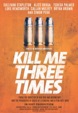 Kill Me Three Times (2014) English HDRip 300MB