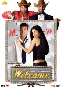 Welcome (2007) Hindi Movie 400MB DVDRip