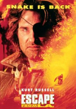 Escape from L.A. (1996) Hindi Dubbed HD 720p 250MB