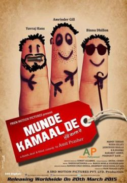 Munde Kamaal De (2015) Punjabi Movie 250MB 480p