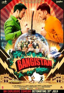 Bangistan (2015) Hindi Movie 300MB DVDRip 480P