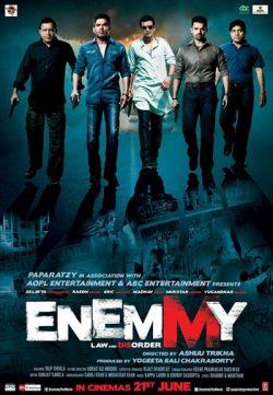 Enemmy 2013 Hindi Movie Download Full HD 250MB