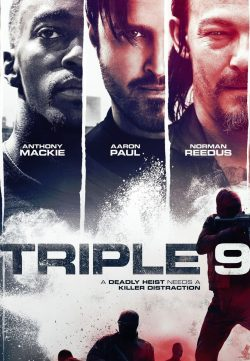 Triple 9 (2016) HDRip 600MB