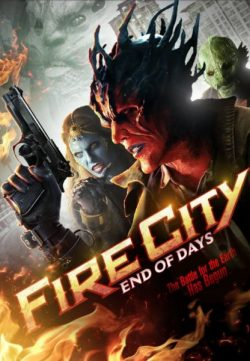 Fire City End of Days (2015) English DVDRip 300MB
