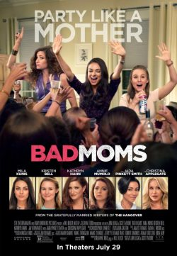 Bad Moms (2016) English HDCAM 550MB