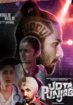 Udta Punjab (2016) Hindi Movie DVDRip x264 750MB