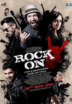 Rock On 2 (2016) Hindi Movie 720p HDRIP 700MB