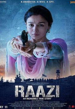 Raazi 2018 Hindi 720p Pre-DVDRip 900MB