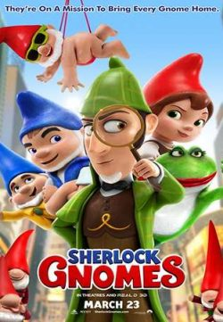 Sherlock Gnomes 2018 English 720p BRRip 600MB ESubs