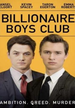 Billionaire Boys Club 2018 English 200MB Web-DL 480p ESub