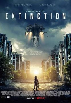 Extinction 2018 English 350MB WEBRip 480p