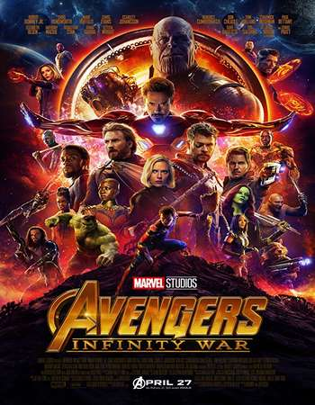 Avengers Infinity War 2018 Hindi Dual Audio 200MB BluRay HEVC Mobile