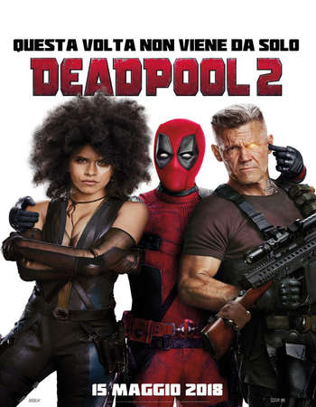 Deadpool 2 2018 Hindi Dual Audio 720p BluRay 950MB ESubs