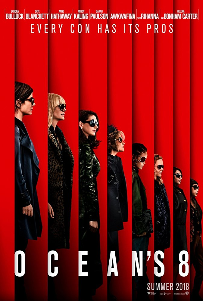 Oceans Eight 2018 English 480p BRRip 350MB ESubs