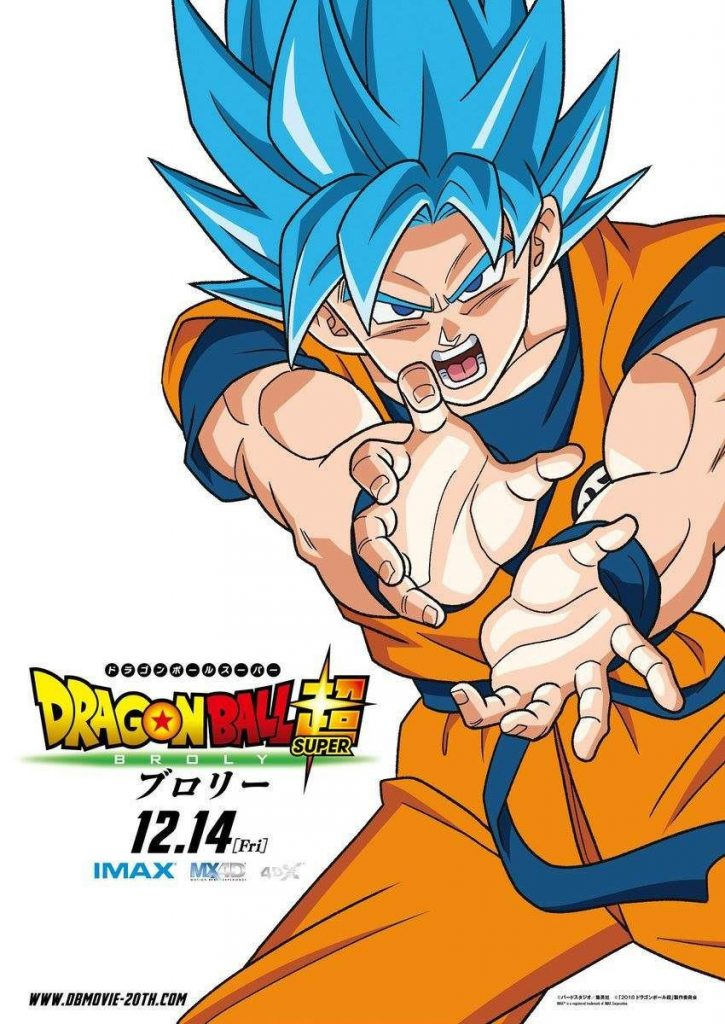 Dragon Ball Super Broly (2018) Dual Audio Hindi 320MB HDRip 480p