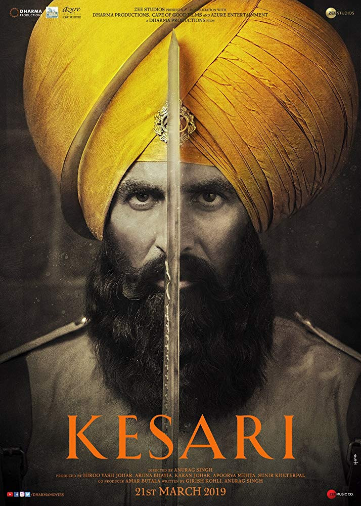 Kesari 2019 Hindi Movie Official Trailer 720p