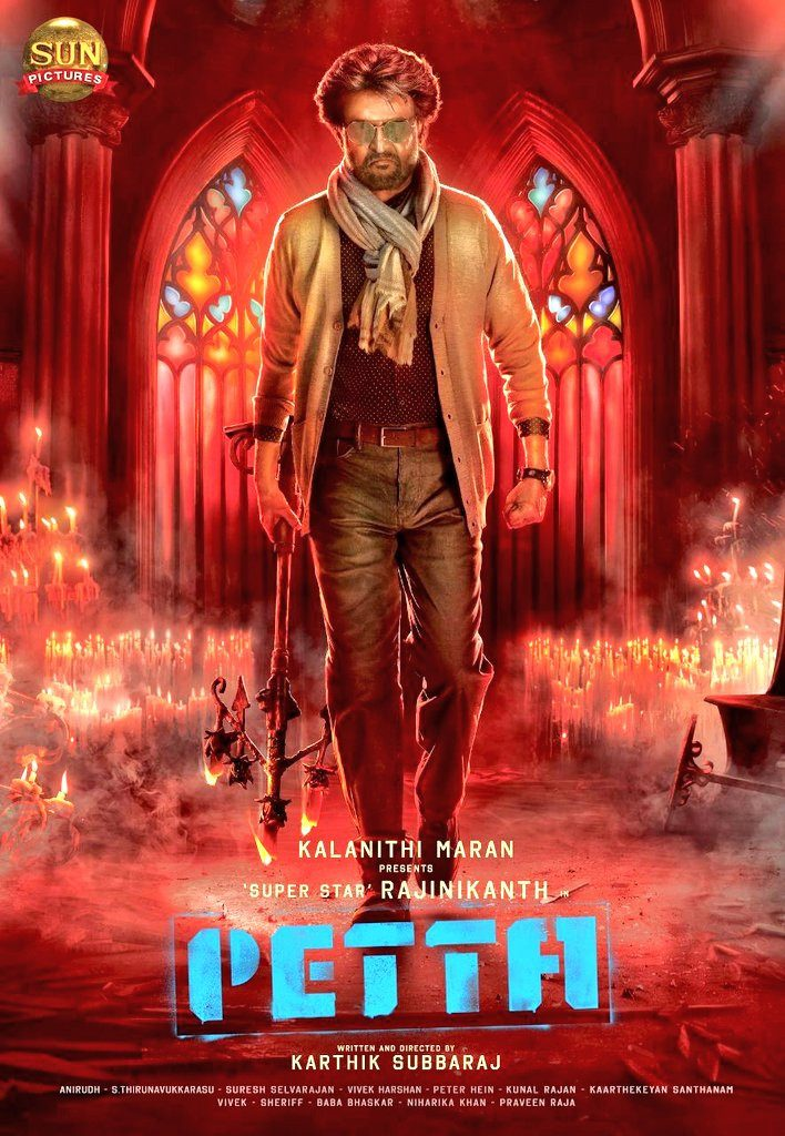 Petta (2019) Hindi Dubbed 400MB HDRip 480p x264 ESubs