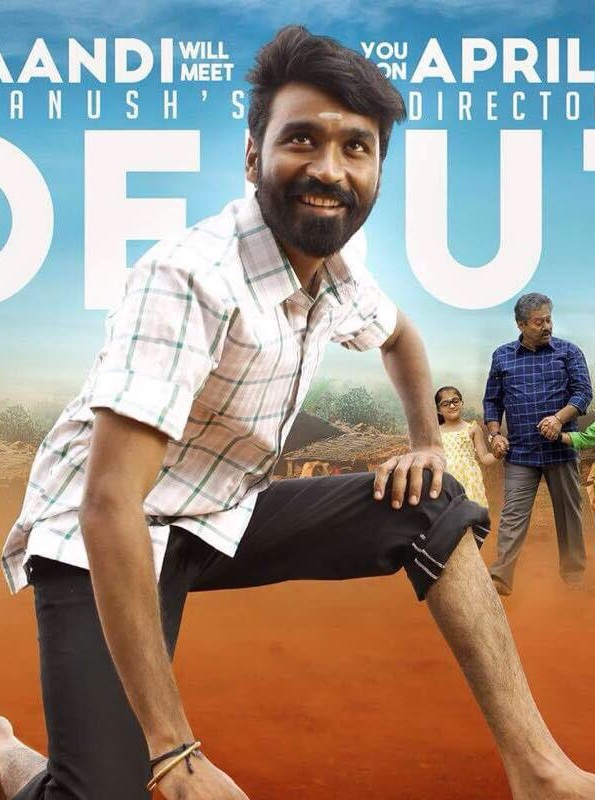 Power Paandi (Dum Lagade Ajj) 2019 Hindi Dubbed 300MB HDRip 480p