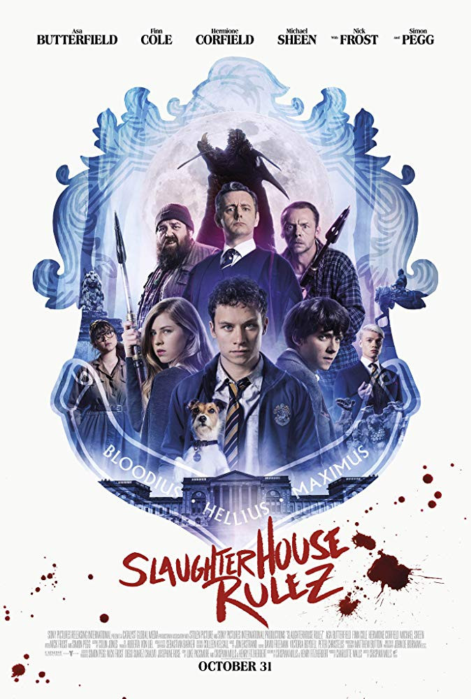 Slaughterhouse Rulez (2018) Engliah 350MB HDRip 480p x264