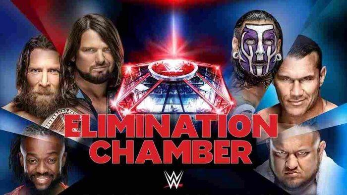 WWE Elimination Chamber (2019) English PPV 150MB HDTV 480p x264