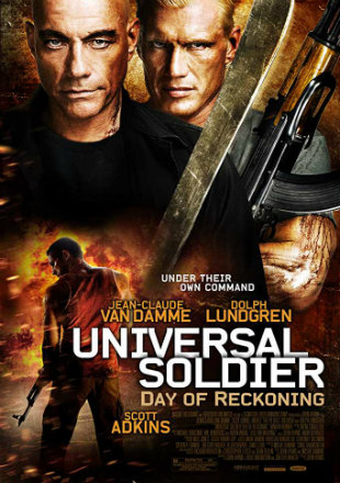 Universal Soldier: Day of Reckoning 2012 Dual Audio Hindi 320MB BluRay 480p