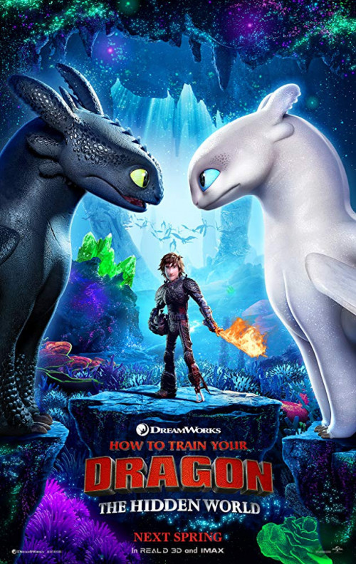 How to Train Your Dragon 3 (2019) English 350MB HDRip 480p x264
