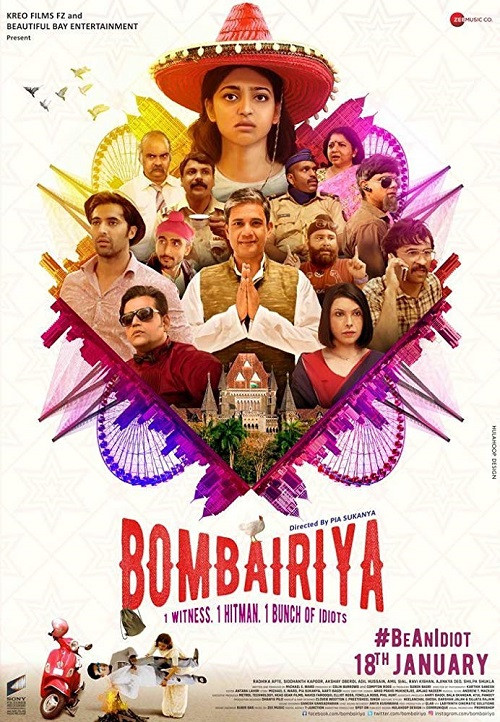 Bombairiya (2019) Hindi Movie 720p HDRip x264 900MB