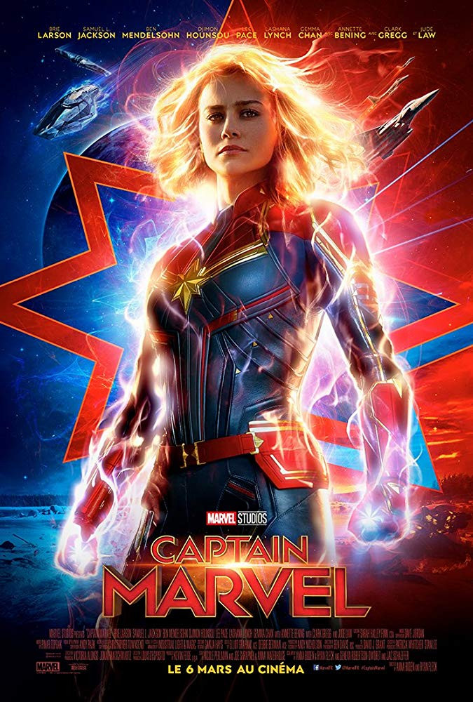 Captain Marvel (2019) English 450MB HDCAM 480p x264